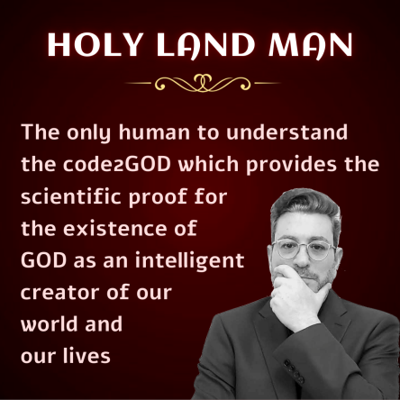Who Is Holy Land Man?