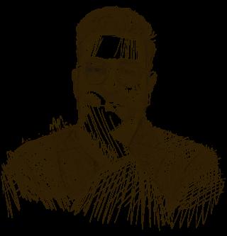 HOLY LAND MAN portrait